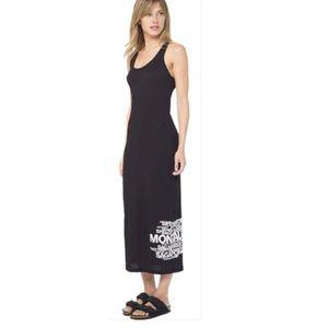 James Perse Cabo San Lucas Mexico black maxi dress